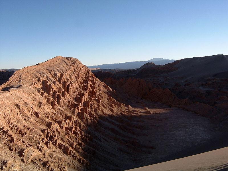 Valle de la luna. San Pedro Chile.